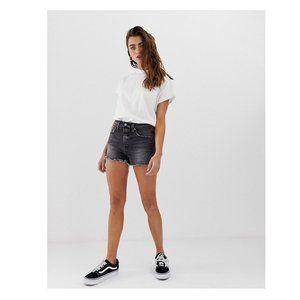 Levi's 501 High Waist Button Fly Shorts